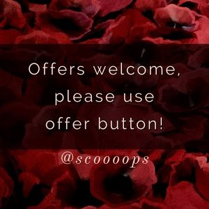 ✨Offers Welcome✨